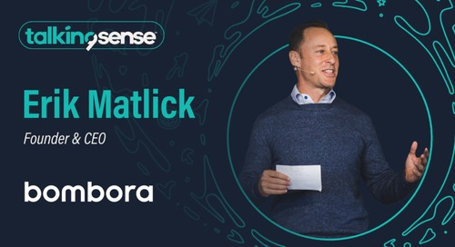 Why Intent is Mission Critical with Erik Matlick, Founder and CEO of Bombora