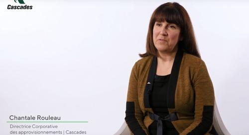 L'évaluation EcoVadis, préalable à toute collaboration avec l'entreprise canadienne Cascades