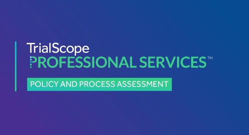 Advisory Services: Policy and Process Assessment