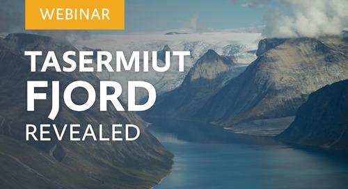"Webinar: ""Tasermiut Fjord Revealed"" with special guest Salik Frederiksen"