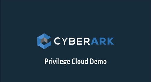 Privilege Cloud Demo