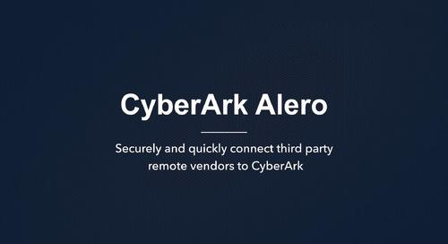CyberArk Alero Whiteboard Video