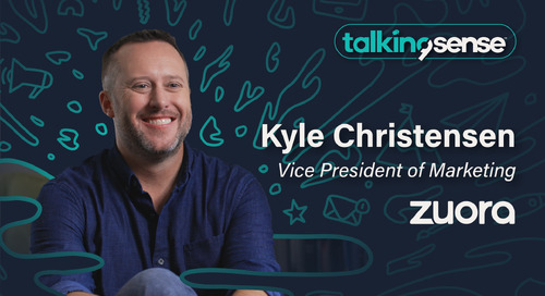 The 5 Elements of a Great Pitch with Kyle Christensen VP of Marketing, Zuora