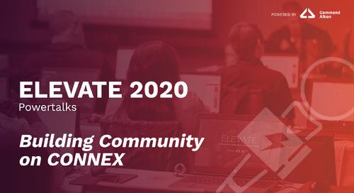 Building Community on CONNEX