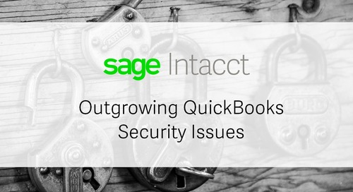Outgrowing QuickBooks Security Issues