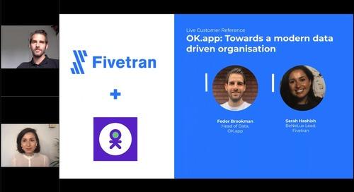 OK.app Customer Reference: Towards a modern data driven organisation
