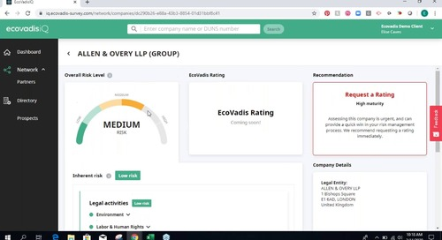 Introducing EcoVadis IQ - Demo Webinar