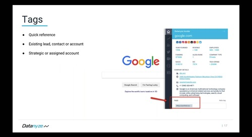How to Use the Datanyze Chrome Extension to Qualify Accounts