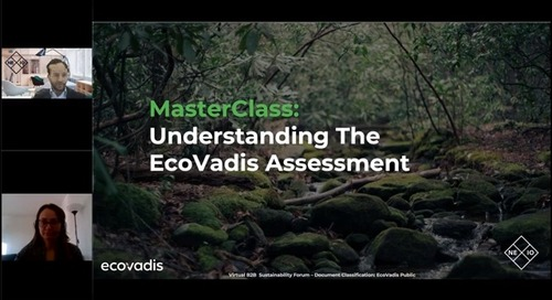MasterClass : Comprendre l'évaluation EcoVadis