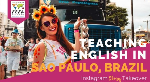 Day in the Life Teaching English in São Paulo, Brazil with Julie Collins