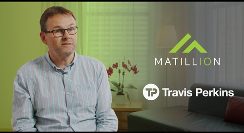 Watch Travis Perkins describe how Matillion helped them save 250,000 pounds a year