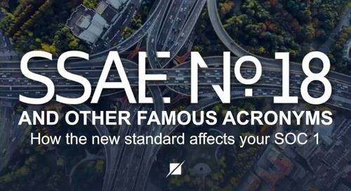 SSAE 18 and Other Famous Acronyms - Encore