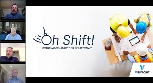 "Oh Shift! Changing Construction Perspectives ""Leadership in Tough Times"""