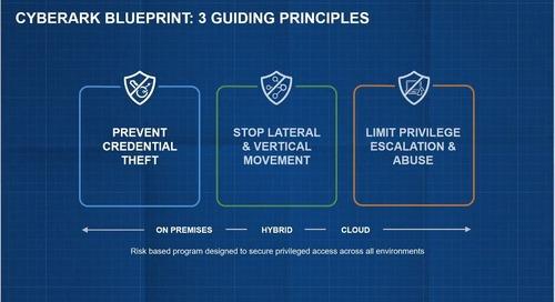 CyberArk Blueprint for PAM Success - Intro to Guiding Principles