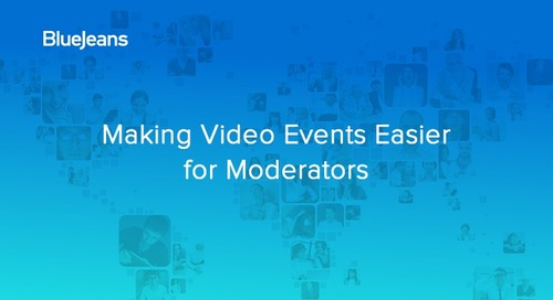 Videocast: Making Video Events Easier for Moderators