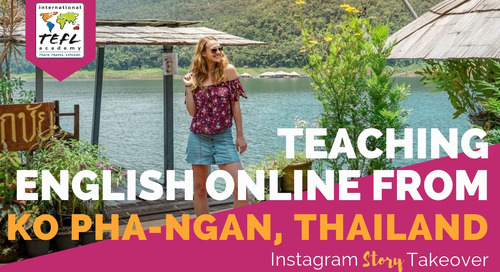 Day in the Life Teaching English Online from Ko Pha-Ngan, Thailand with Amanda Kolbye