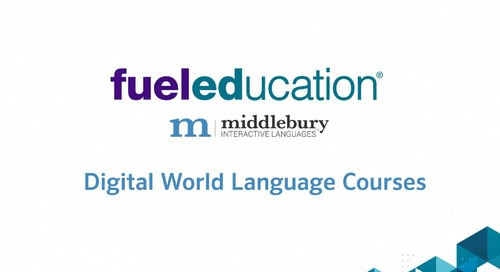 Overview: World Language Courses from Middlebury Interactive Languages