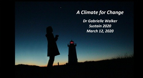 A Climate for Change, Sustain 2020