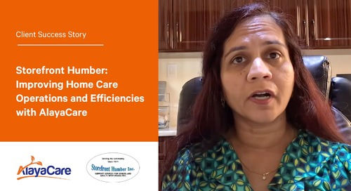 Storefront Humber Inc.: Improving home care operations and efficiencies with AlayaCare