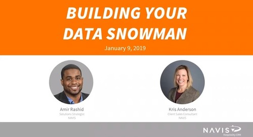 Building Your Data Snowman: How to stack your data and teams to build a complete picture