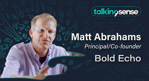 Communication tips and tricks with Matt Abrahams - Principal & CoFounder of Bold Echo