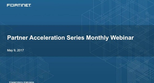 Partner Acceleration Series Webcast - May 2017