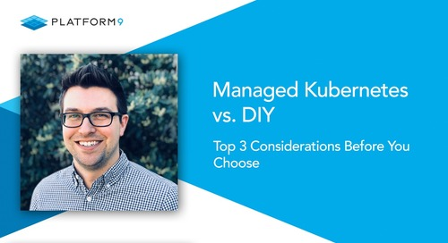 Managed Kubernetes vs DIY: Top 3 Considerations Before You Choose