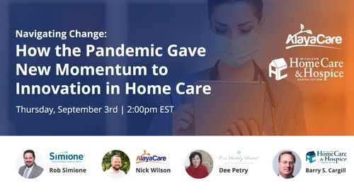 How the pandemic gave new momentum to innovation in home care