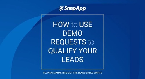 Webinar - How to Use Demo Requests to Qualify Leads
