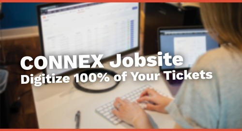 CONNEX Jobsite TicketPro Demo