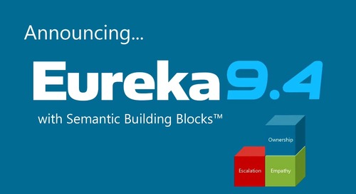 Eureka 9.4 with Semantic Building Blocks