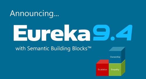 Eureka 9.4 with Semantic Building Blocks