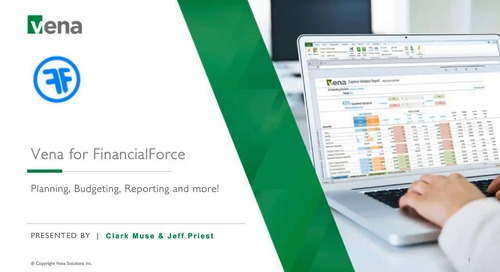2017-10-18 - Better Budgeting with MS Excel & Financial Force