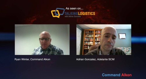Talking Logistics Featuring Ryan Winter Global Technical Sales Manager for FiveCubits a Command Alkon Company