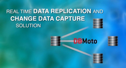 DBMoto® - Real-time Data Replication and Change Data Capture