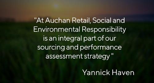 Message from Auchan Retail's Procurement and CSR Management