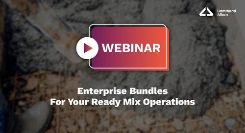 Enterprise Bundles For Your Ready Mix Operations | Webinar