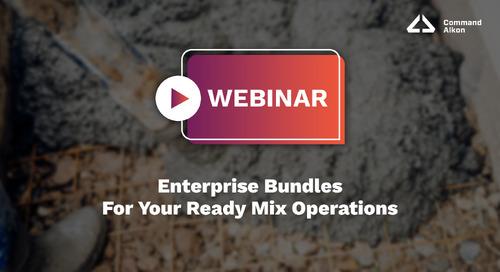 Enterprise Bundles For Your Ready Mix Operations   Webinar