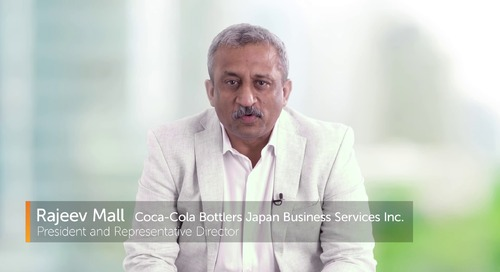 Automation's in the DNA of Coca Cola Bottlers Japan | Automation Anywhere Customer Success Story