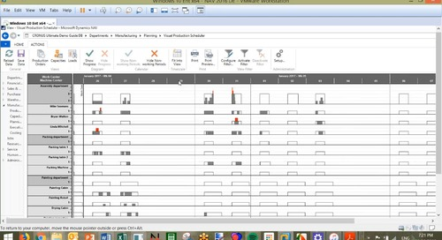Visual Scheduling for Microsoft Dynamics NAV from NETRONIC