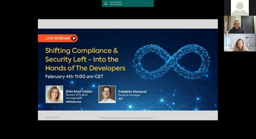 ISIT Shifting Compliance & Security Left - Into the Hands of The Developers