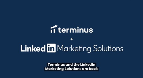 Terminus + LinkedIn Marketing Solutions: This Time, It's Personal.