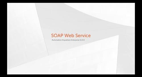 Enterprise 11.x Features - SOAP Web Service