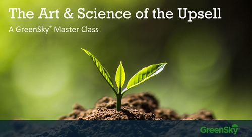 Masterclass Webinar: The Art & Science of the Upsell