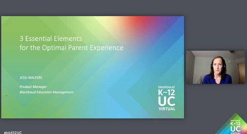 3 Essentials Elements for the Optimal Parent Experience