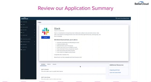 Integrating and Managing your Slack Channels with BetterCloud - Customer Workshop