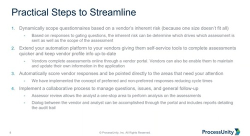 Webinar Replay: Reduce Vendor Fatigue & Streamline Assessment Reviews