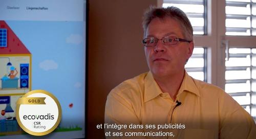 EWZ Fournisseur d'énergie suisse explique le choix EcoVadis
