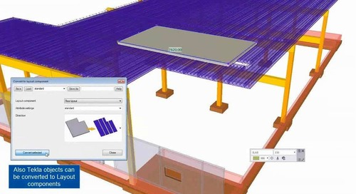 Sneak Preview of Tekla Structures 2017 Software for Precast