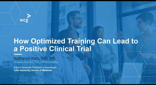 How Optimized Training Can Lead to a Positive Clinical Trial